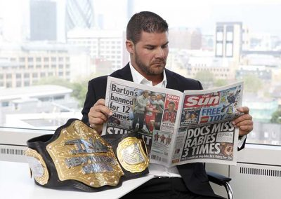 Bobby Roode at The Sun