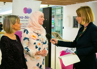Nisa-Nashim Conference covered by the BBC