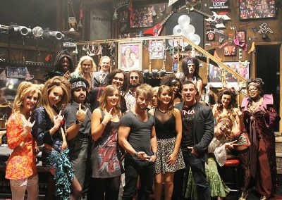 When British Boot Camp met Rock of Ages