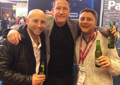 Working with Arsenal legend Ray Parlour